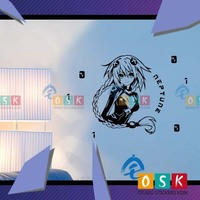 Neptune Wall Stickers Goddess Super Dimension Game Neptune God Dilemma Anime Games Pain Car Stickers