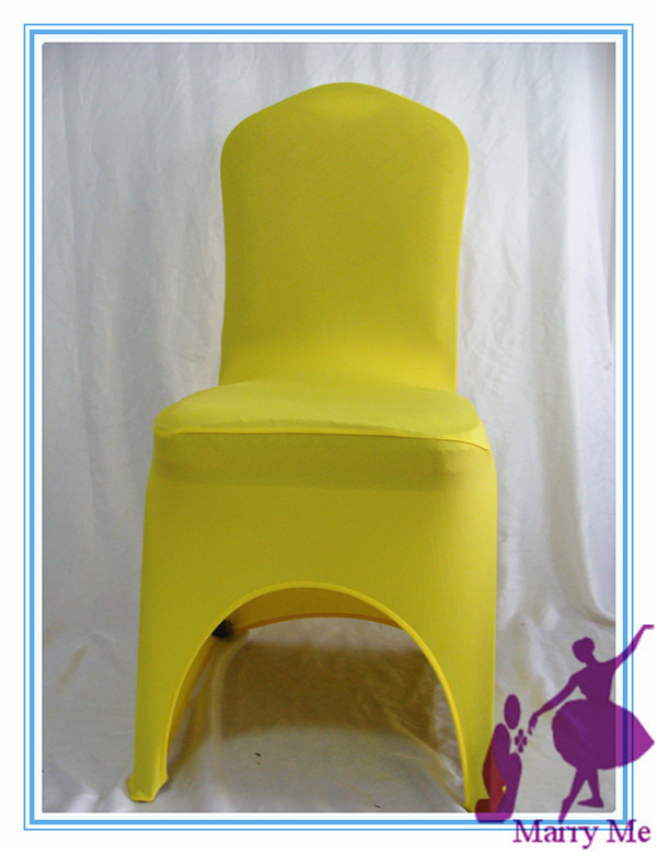 Yellow Chair Covers Aqua Office Hot Sale For Weddings Spandex Lycra China Wedding