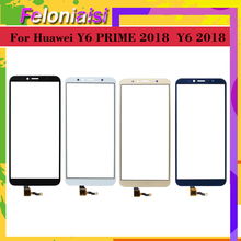 10pcs/lot Touchscreen For Huawei Y6 PRIME 2018 ATU-L31 Touch Screen Panel Sensor Digitizer Front Glass Outer Lens