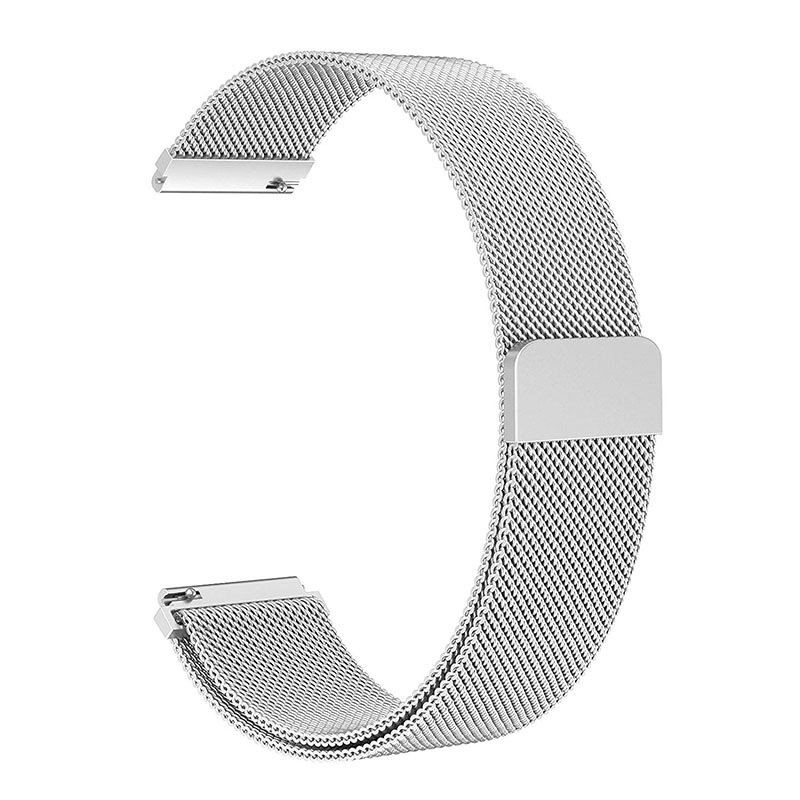 Watchband Strap Quick Release Stainless Steel Wrist Band Strap for Samsung Galaxy Watch 46mm ND998
