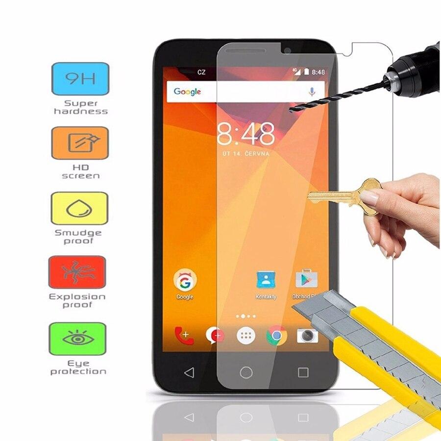 Wincoo 9 H 0.26 мм 2.5D Закаленное стекло Экран протектор Плёнки для <font><b>Alcatel</b></font> pixi4 3.5 4.0 4.5 5.0 5.5 6.0 закаленное защитный кожух