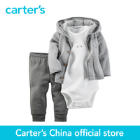 Carter's 3 pcs baby children kids Babysoft Cardigan Set 126G290, sold by Carter's China official store