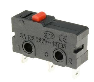 5pcs Push Button Microswitch SPDT 5A Micro Switch
