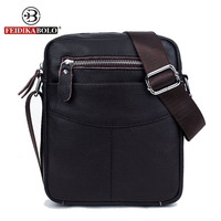 FEIDIKA BOLO Brand Genuine Leather Bag Men Messenger Bags Men Leather Handbags Small Crossbody Bags For