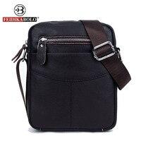 FEIDIKA BOLO Brand Genuine Leather Bag Men Messenger Bags Men Leather Handbags Small Crossbody Bags For