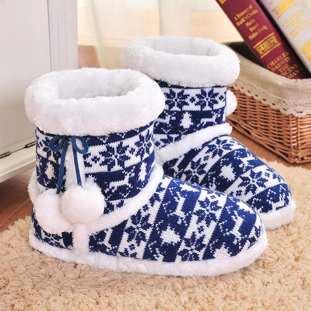 Women's Wool Soft Slippers