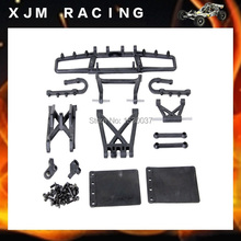 1:5 RC CAR,Baja plastic parts,Rear bumper set fit hpi rovan baja 5sc free shipping