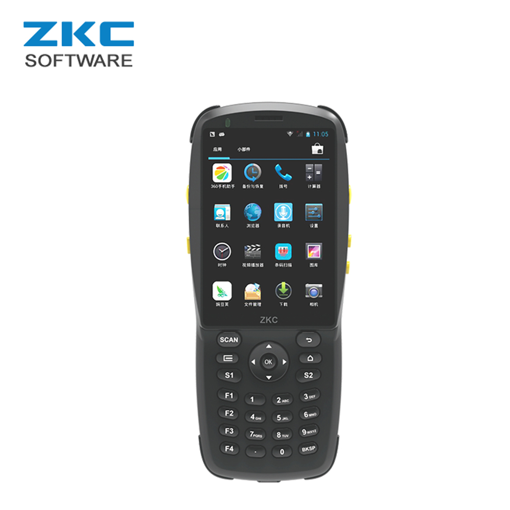 US $129 0 |ZKC PDA3501S GSM 3G WiFi RFID/NFC Android Handheld PDA 1D 2D Bar  Qr code Scanner Machine-in Scanners from Computer & Office on