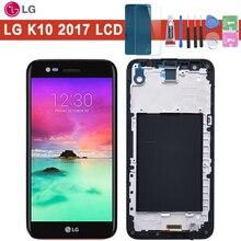 5.3 garantie 1280x720 Display Für LG K10 2017 LCD mit Touch Screen Digitizer K10 2017 Display M250 m250N M250E M250DS