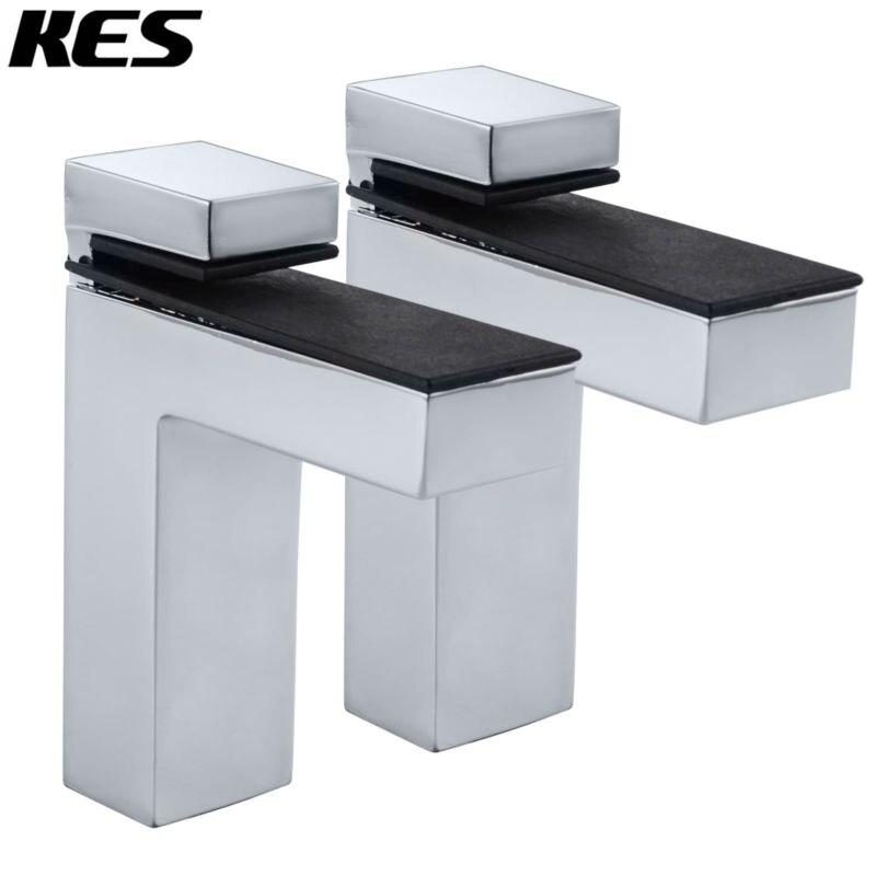Aliexpress Com Buy Kes Hsb301b P2 Solid Metal Adjustable Wood Glass Shelf Bracket
