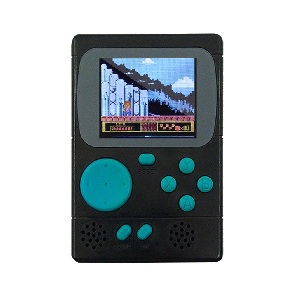 198 משחקים קלאסיים צבע נייד רטרו מיני כיס כף יד משחק נגן LCD משחק קונסולת הטוב ביותר מתנה לילדים ילדים # SYS