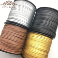 3MM 100 yards PU leather cord/jewelry accessories/jewelry findings/for the production of tassels/Etsy supplier