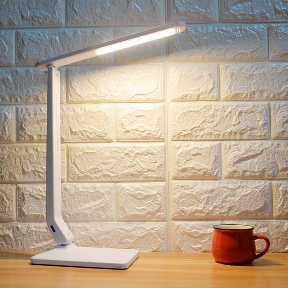 Регулируемая книжная лампа usb настольная лампа 59LED сенсорный фонарик домашний декор ночник рядом с кроваткой Уход за глазами лампочка с мягким светом