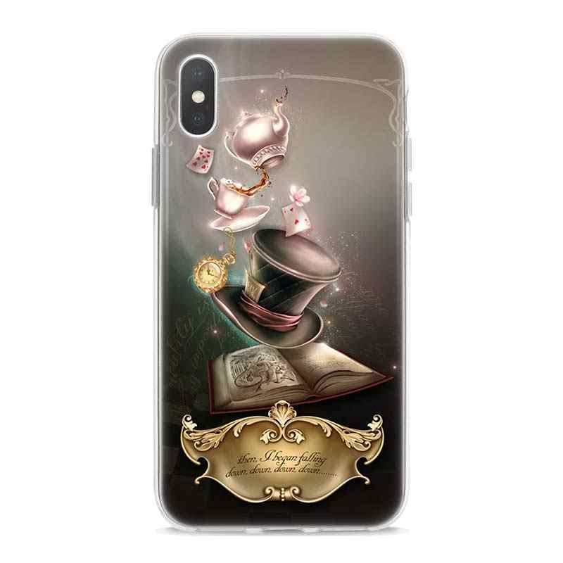 best service f140f 8e014 Detail Feedback Questions about Alice in Wonderland punk Case for ...
