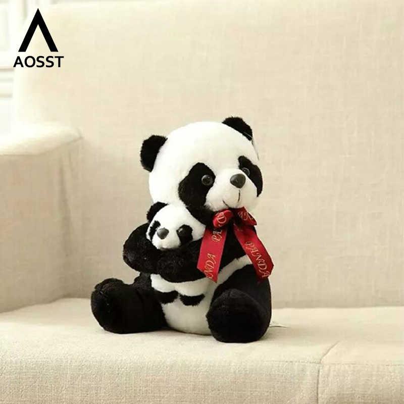 20-70cm panda boneca grande tamanho animal anime brinquedo de pelúcia bebê urso travesseiro panda pano boneca crianças brinquedos do bebê presente de aniversário para crianças
