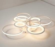Rectangular aluminum led ceiling lights post modern creative simple warm bedroom lamp personality creative living room lighting