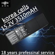 53wh 15.2V AP13B8K KT00403015 Battery for ACER For Aspire R7 V5 V7 ES1-511 M5-583P R7-571 V5-473G V5-573P V7-481 V7-481G Bateria цена в Москве и Питере