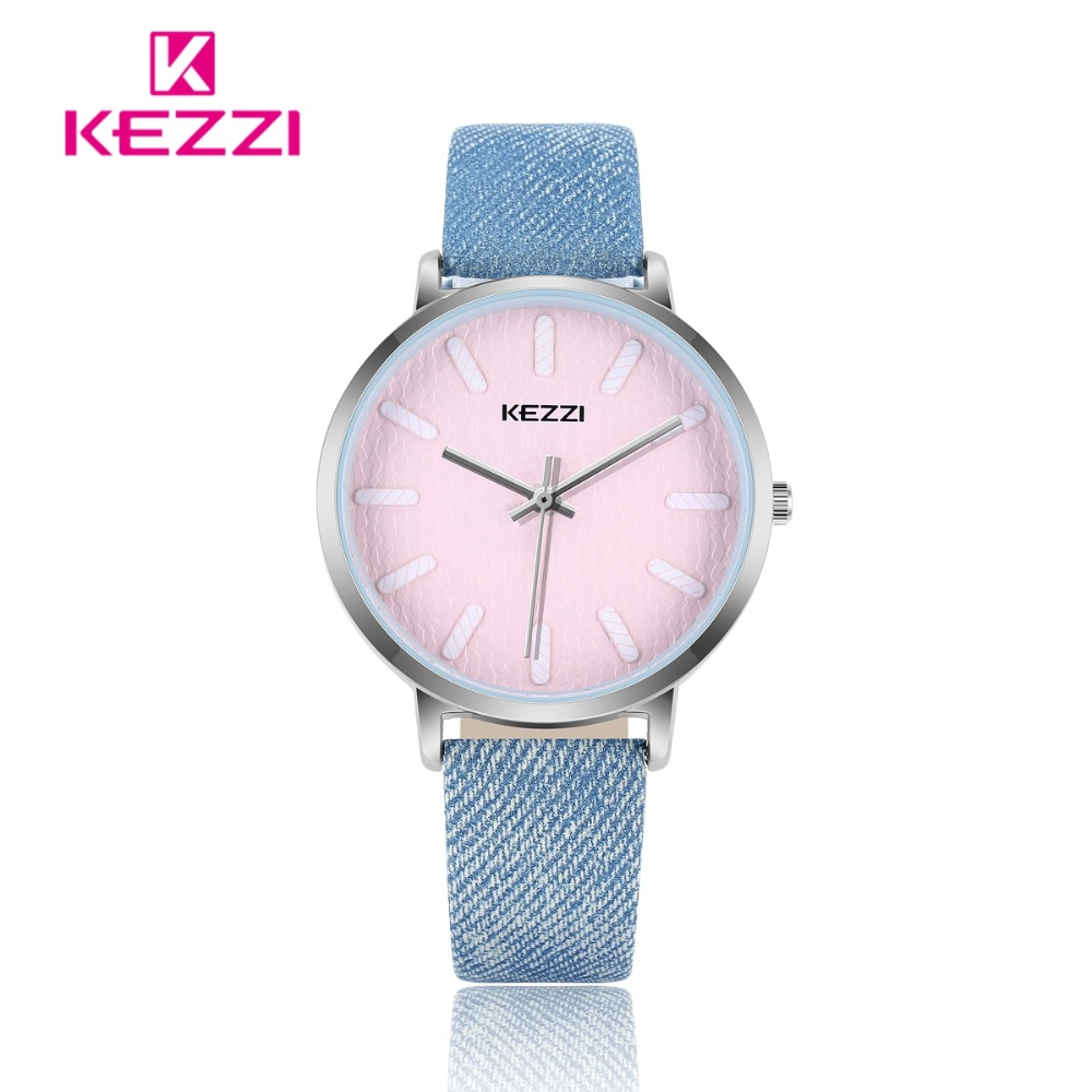 KEZZI Dameshorloge Casual Topmerkhorloge Dames Klok Denim Blauw - Dameshorloges - Foto 1
