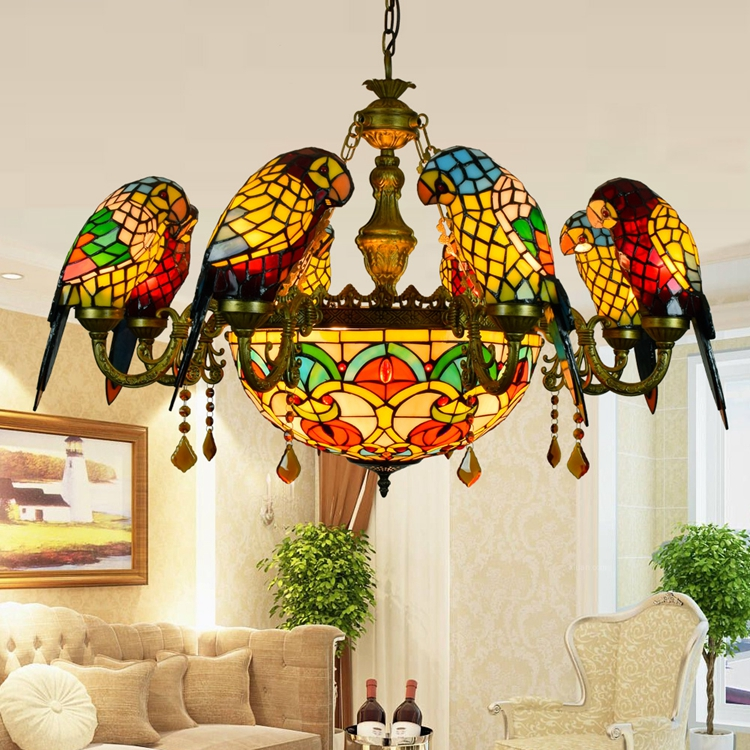 Tiffany Style Ceiling Pendant Lights