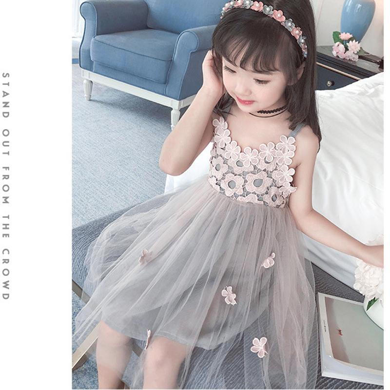 HTB1xBKRyYuWBuNjSszgq6z8jVXaY - Sodawn 2018 New Children Clothing Fashion Girls Dress Lace Fluffy Pop Princess Dresses Baby Girls Clothing Summer New Kids Dress