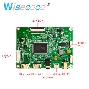 """Image 4 - 13.3"""" display LCD TFT 1920 * 1080 FHD display with 2HDMI mini USB control driver board for laptops, Windows PC"""