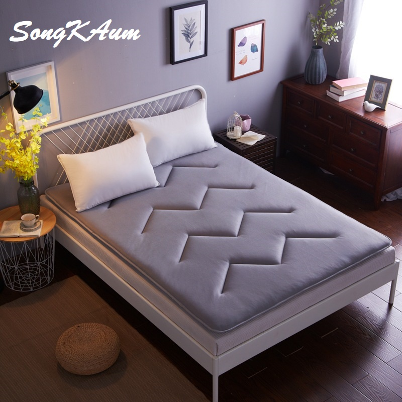 New Fashion 3D Cool Vents Tatami Mattress Keep Warm Thicker Non-slip 1.5 / 1.8 m Mattress Single Double Students