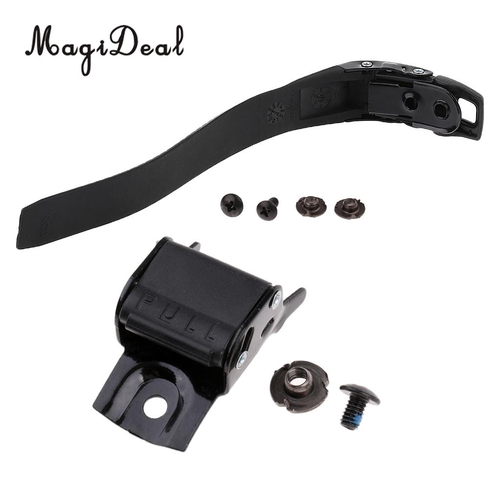 MagiDeal Replacement Inline Roller Skate Shoes Energy Strap With Mounting Screws + Strap Buckle Skates Accessories