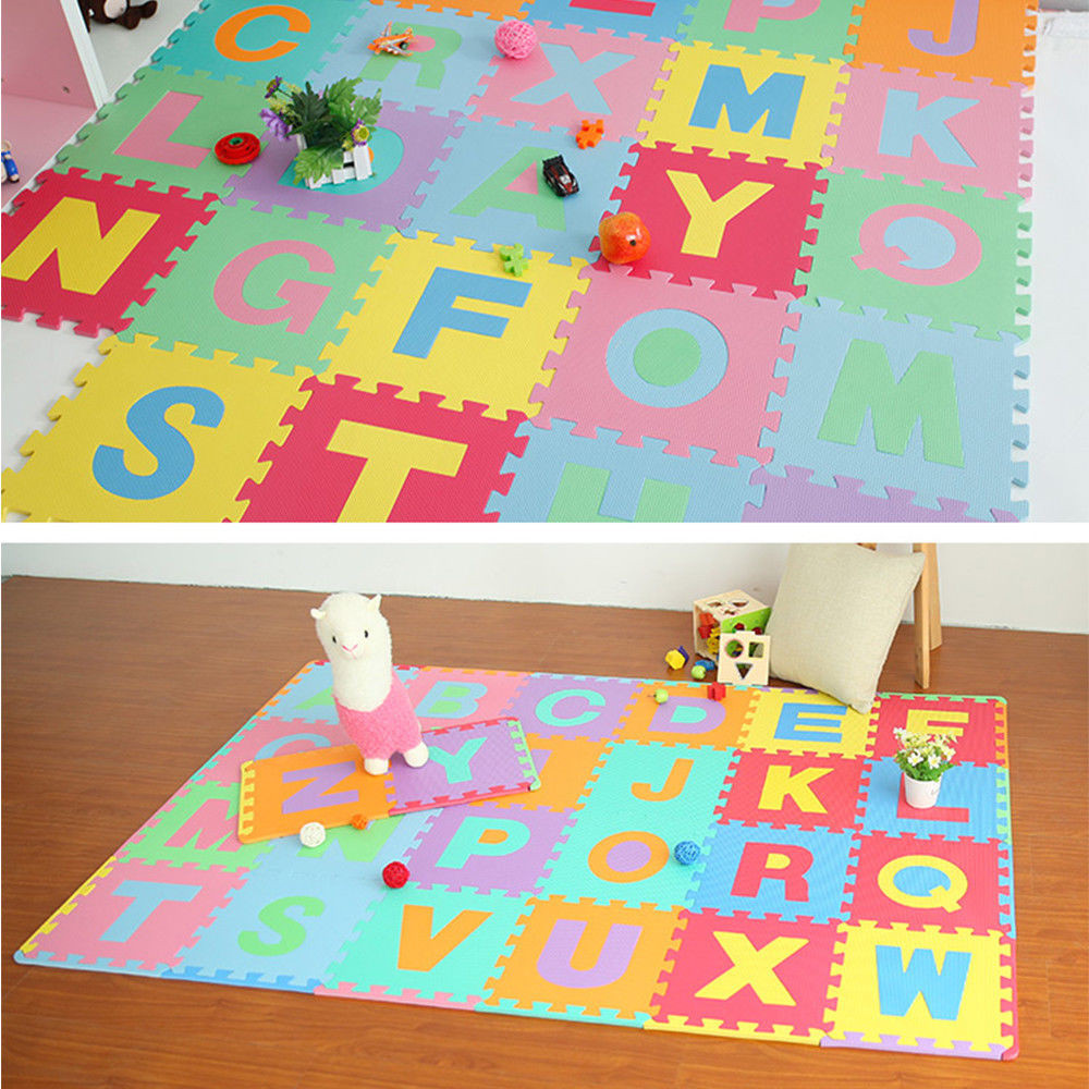 36pc  Play Mat Kids Developing Mat Eva Foam Gym Games Play Puzzles Baby Carpets Toys For Children's Rug Soft Floor*