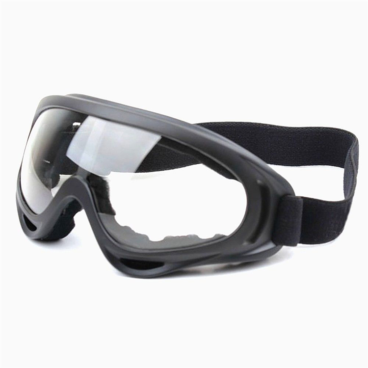 WOSAWE Black frame Adult Snowmobile font b Ski b font goggles Protective Glasses Outdoor Motorcycle Cycling