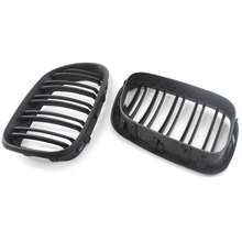 2PCS Gloss New Black M Color Front Center Grille Kidney Sport Grilles Grill for BMW 99-03 X5 E53 Hood Accessories Parts Car styl