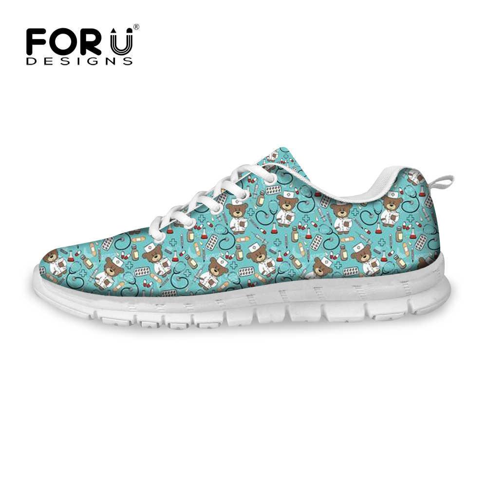 5b930fc9 ... FORUDESIGNS/женские сникерсы на плоской подошве, обувь для медсестер,  весенняя женская обувь, ...