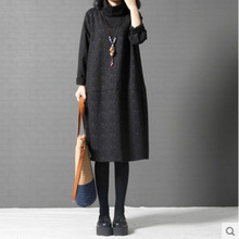 Autumn&winter New Fashion Women Turtleneck Wool Sweater Korea Brand Lady Casual Long Pullover Thicken Warmth Knitted Sweaters