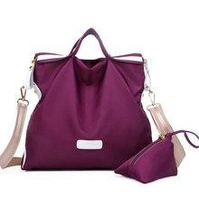 2016 New Fashion Brand Bag Women Waterproof Nylon  Handbag Bag Large Capacity Women Bag Classic Women Messenger Bag tidesacamain