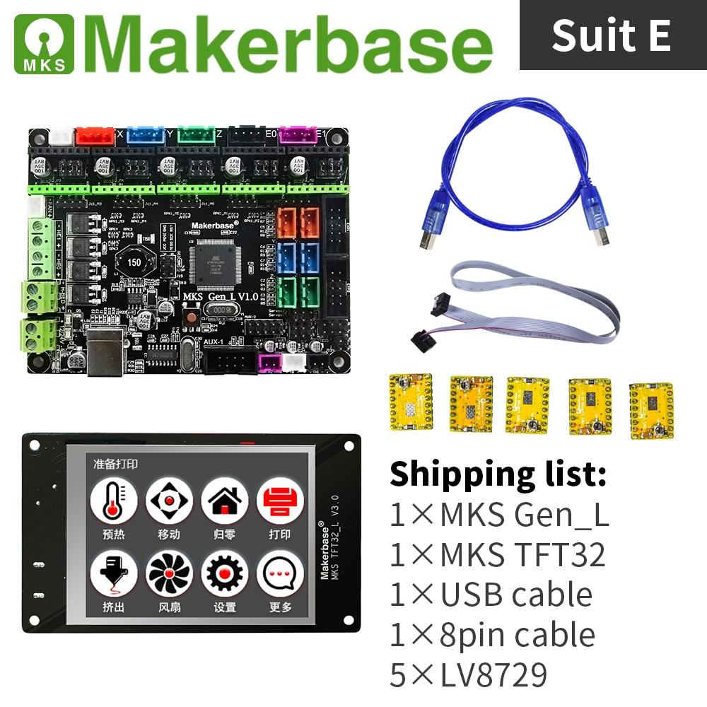 3d imprimante contrôleur kit MKS Gen_L et MKS TFT32 - 5