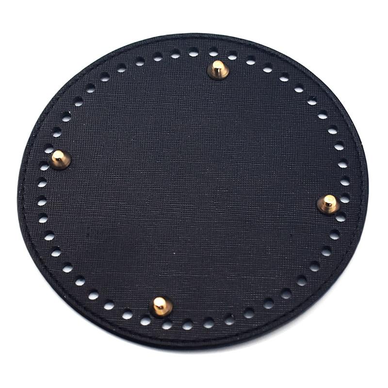 New Fashion Shoulder Bag Bottom Tray Round Fixing Plate Replacement For Women Handbag  Handmade Diy Accessories KZBT018