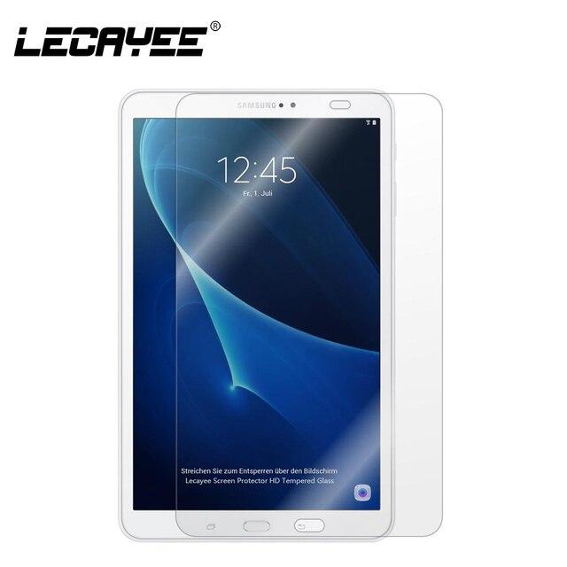 LECAYEE de vidrio templado para Samsung Galaxy Tab A 10,1 8 9,7 2016 T580 T585 T355 T5550 T28 P580 P585 pantalla protector Tablet de vidrio