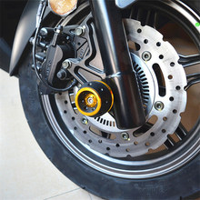 Front Axle Slider Crash Pad guard from For KYMCO