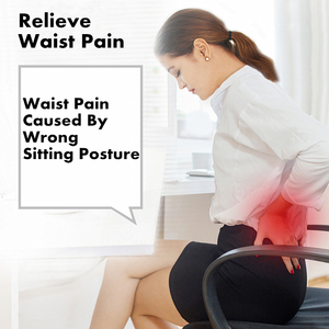 Image 2 - PurenLatex Memory Foam Waist Lumbar Side Support Pillow Spine Coccyx Protect Orthopedic Car Seat Office Sofa Chair Back Cushion