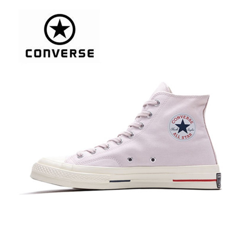 Converse 1970S Men Women Skateboarding Shoes Classic Unisex Canvas High Top Anti-Slippery Resistant Comfortable converse all star cdg play x converse 1970s unisex high low women men canvas skateboarding shoes