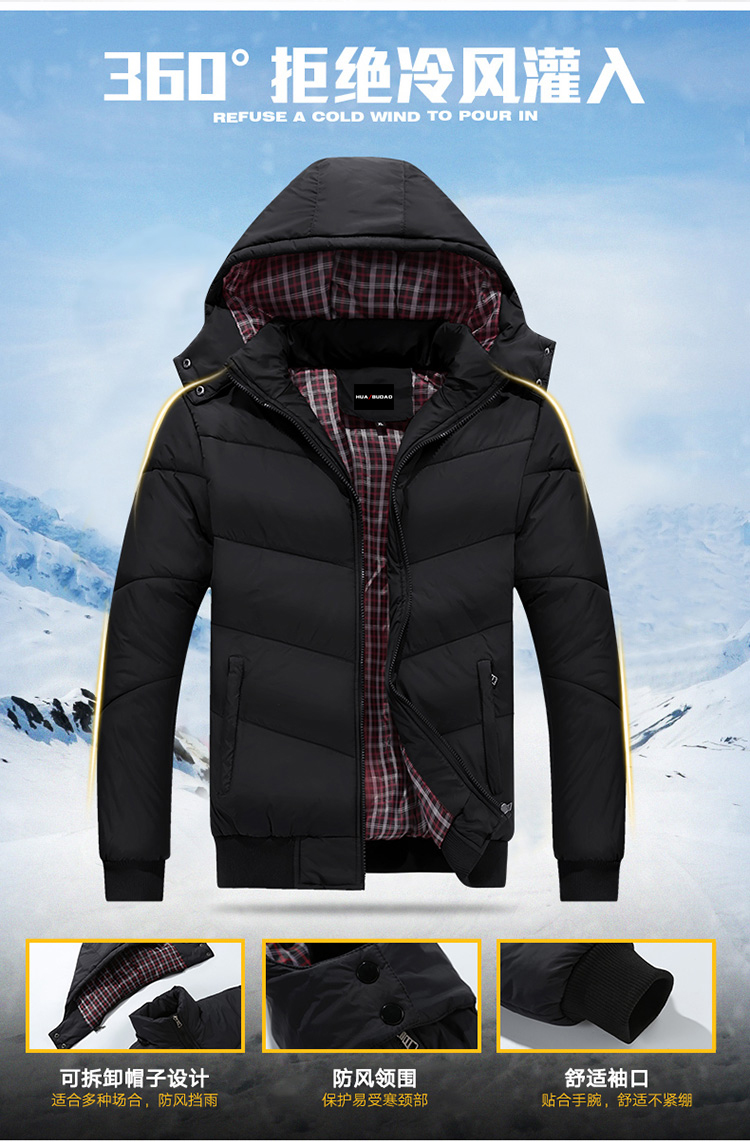 44791a905267 2019 2019 Brand New Men Jacket Autumn Winter Hot Sale High Quality ...