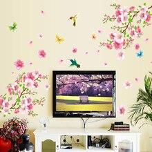 Naklejka na ścianę Peach Blossom