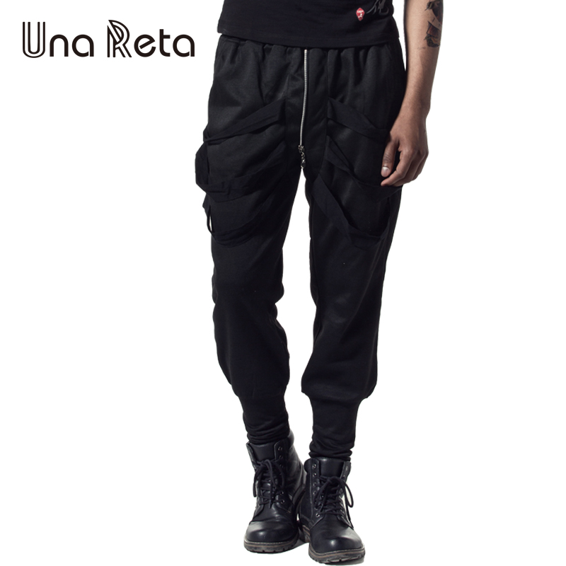 Una Reta 2018 New Men'S Pants Fashion Leisure Hip Hop Joggers Pants Plus Size Trousers Men Women Streetwear Harem Pants