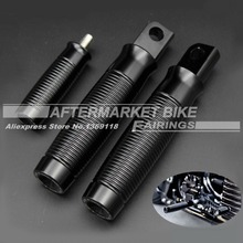 New Aluminum CNC Shifter Fits For Harley 883R 883L 48 Sportster With Black CNC Custom Foot Pegs Footpegs