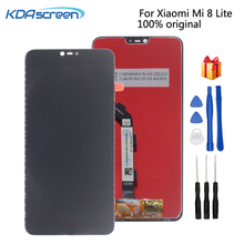 Original For Xiaomi Mi 8 Lite LCD Display Touch Screen Digitizer Repair Parts For Xiaomi Mi 8X Screen LCD Display Replacement 8 lcd matrix for tesla neon 8 0 screen display tablet pc replacement parts free shipping