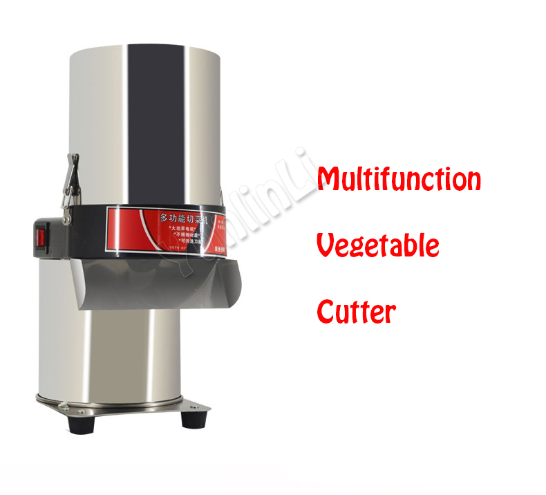 Electric Vegetable Cutter Commercial Vegetable Slicer Vegetable Shredder Professional Vegetable Chopper 600 stainless steel vegetable chopper commercial electric vegetable cutter vegetable fruit twist shredder