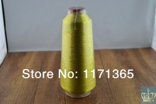 Metallic yarn, Golden thread,for embroidery machine sewing machine,3500M, 150G Shipping free pearl king 150g