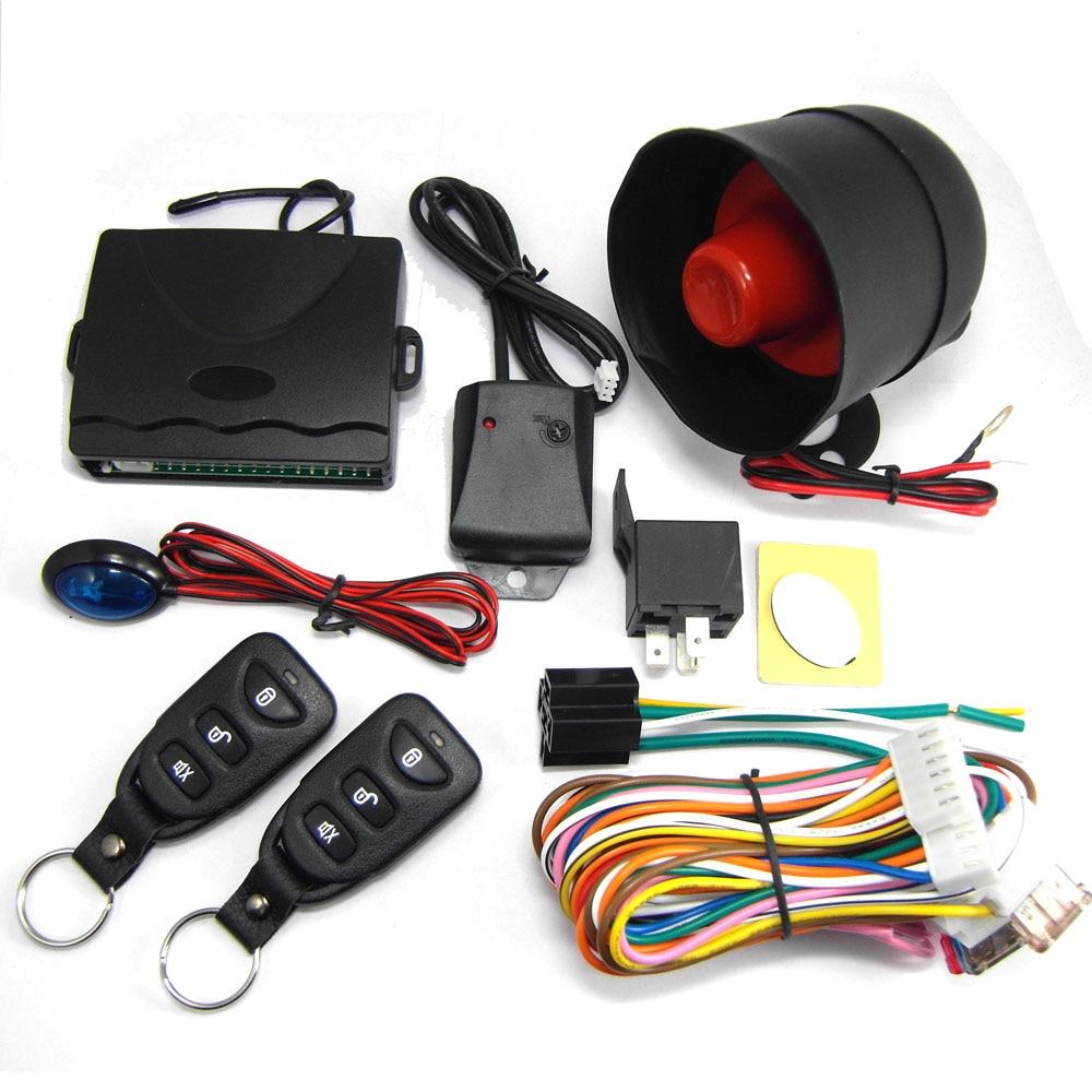 802B-8113 voiture système d'alarme avec sirène pour 12 V DC Véhicule qui a central système de verrouillage de porte