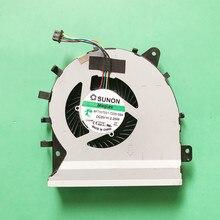 Novo portátil cpu ventilador de refrigeração refrigerador computador portátil apto para asus pu450c pu451 pu451l pu450cd pu451ld sunon MF75070V1-C230-S9A 5 v 2.25 w