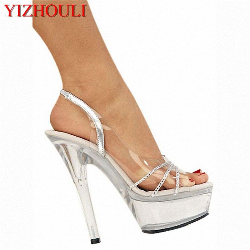 4369294e0 ̀ •́ 15 cm alta com sandálias modelo estrela sapatos sapatinho de ...