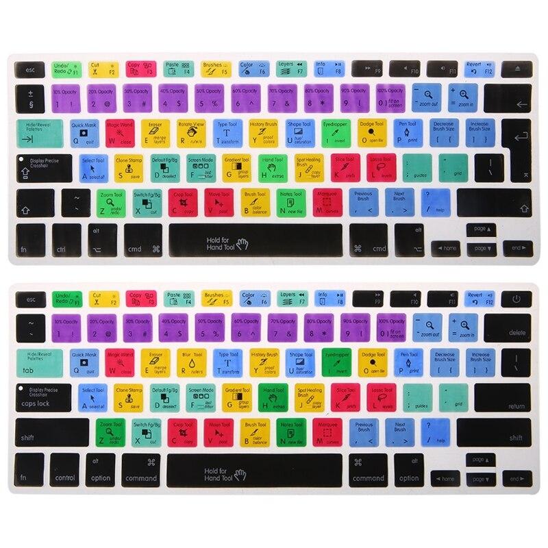 US/EU English Keyboard Shortcuts Keyboard Adobe Photoshop Shortcut Keys Keyboard Protector Keyboard Covers